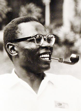 Barack Obama's biological father, Barack Obama, Sr.